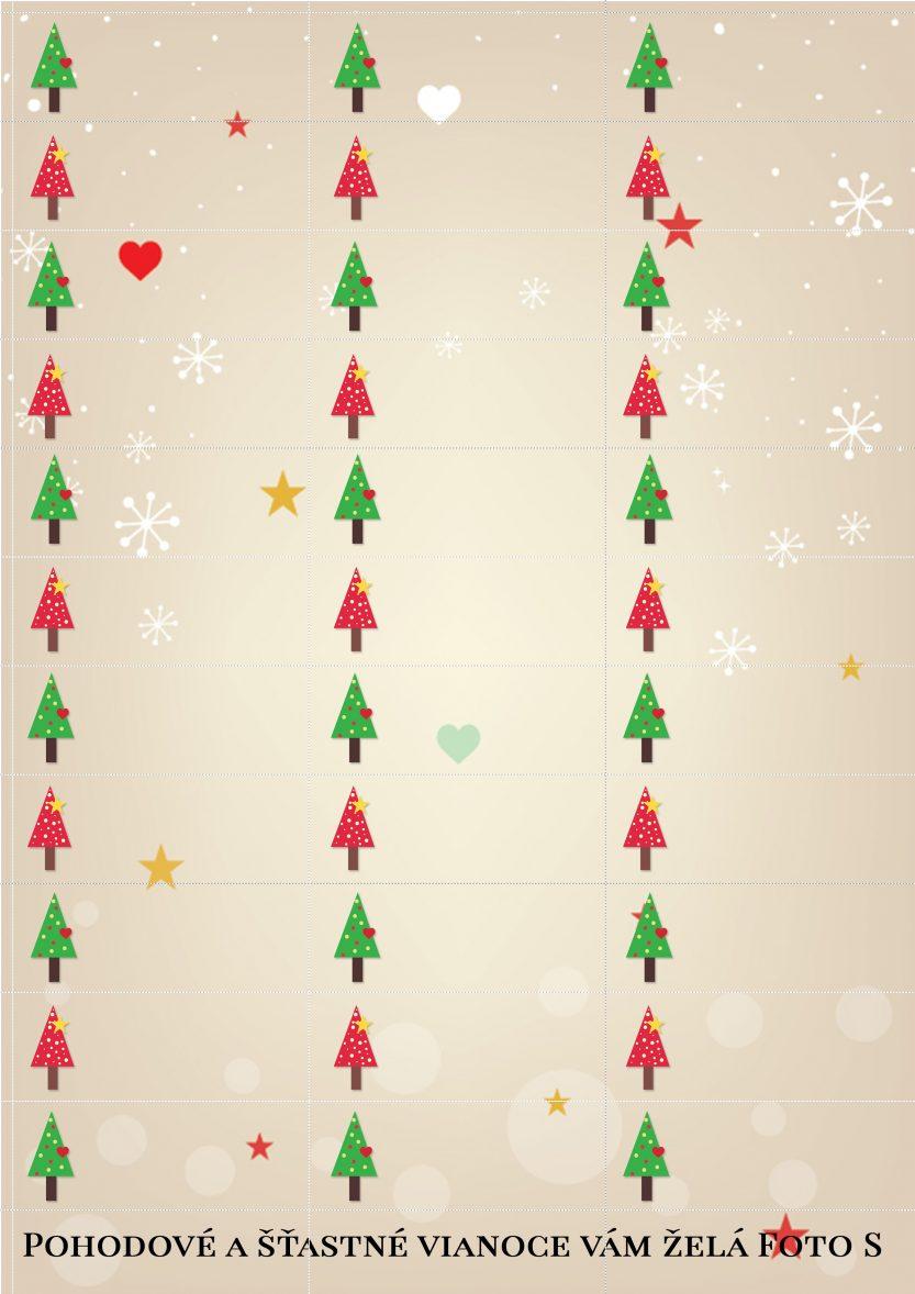 Menovky na vianočné darčeky od Foto S